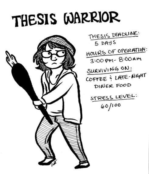 Thesis Warrior